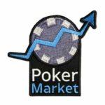 Gestickter Aufnäher Poker Market