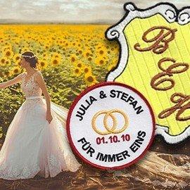 Hochzeit Aufnäher