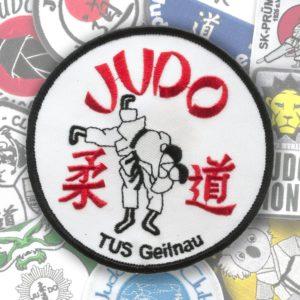 Judo Aufnäher
