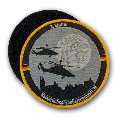 Klett Aufnäher - Kampfhubschrauberregiment 36