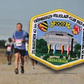 Marathon Aufnäher